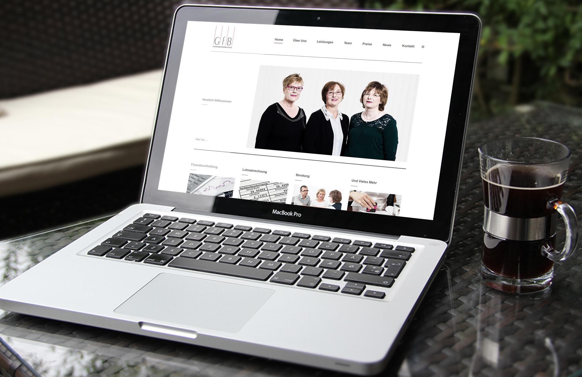 Website - Homepage - DataFinanz