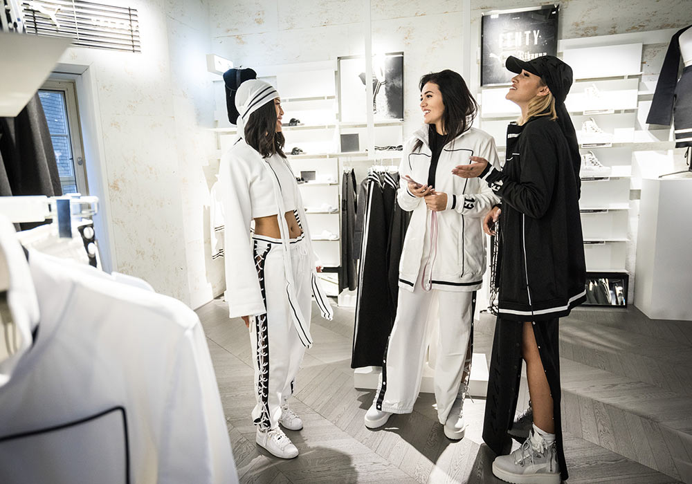 Branding-Puma-Flagshipstore - Launch Fenty by Rihanna - Berlin