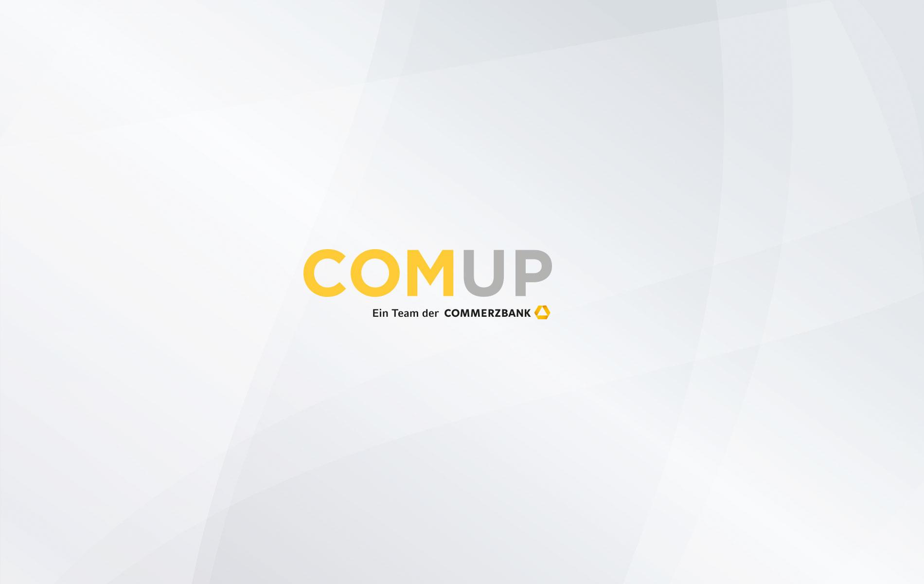 Markenname: Die Startup-Beratung der Commerzbank AG heißt COMUP