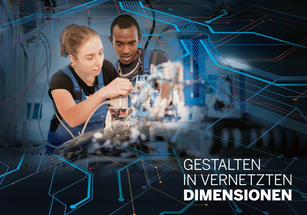 Gestalten in vernetzten Dimensionen
